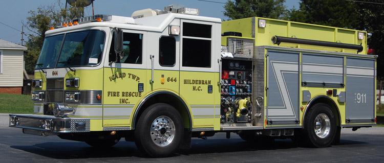 Icard Township Fire Rescue Inc Apparatus